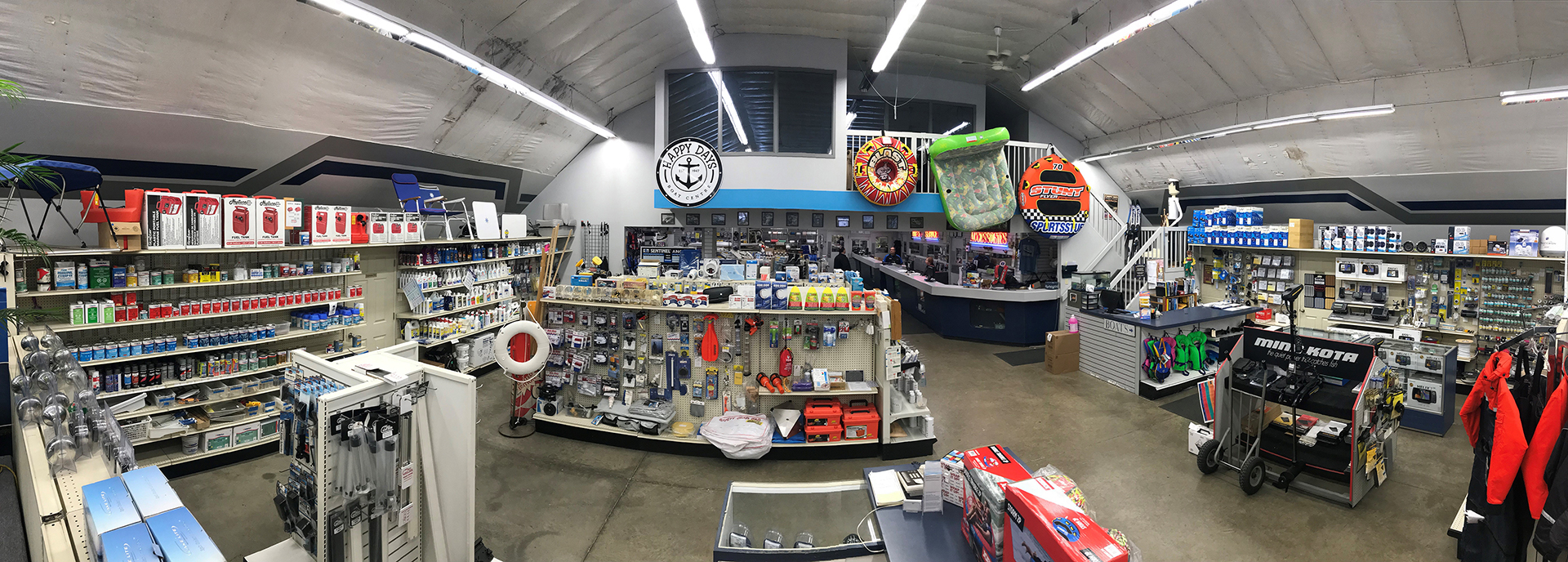 Image of inside the ship store